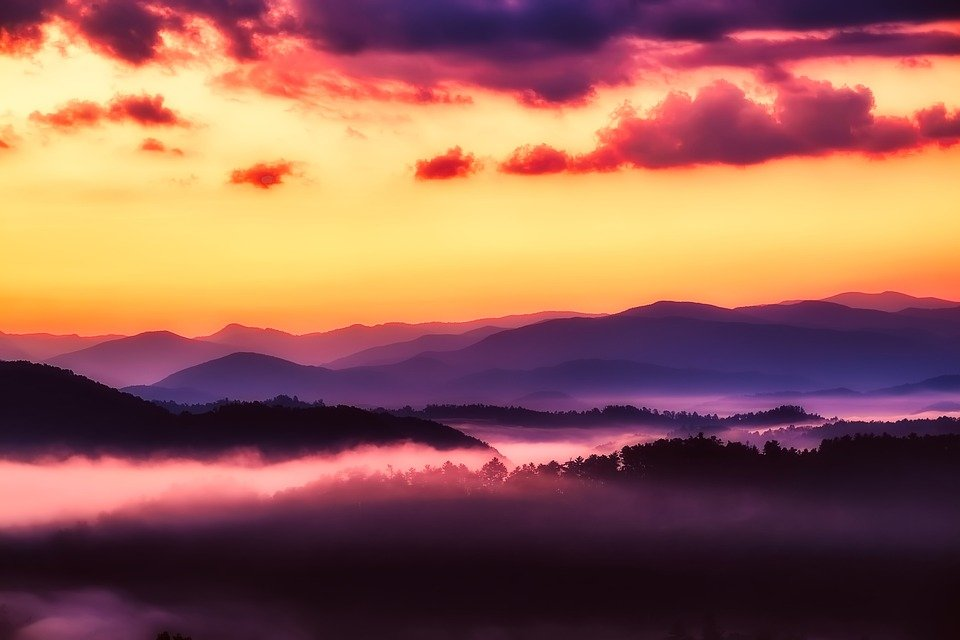 Smoky Mountains, Tennessee Road Trip