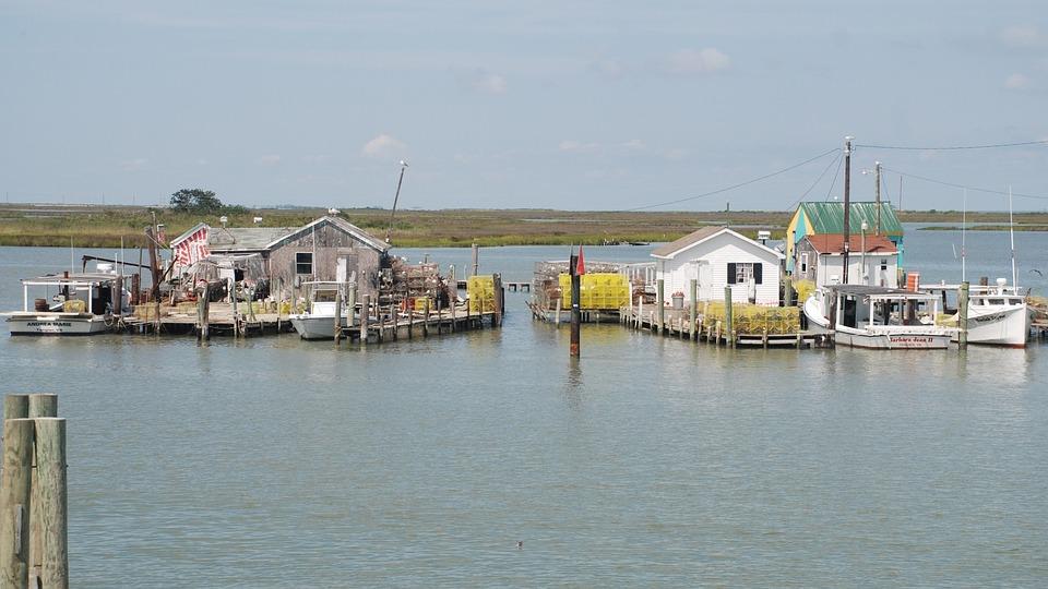 Tangier Island, Chesapeake, Bay, Virginia, Summer
