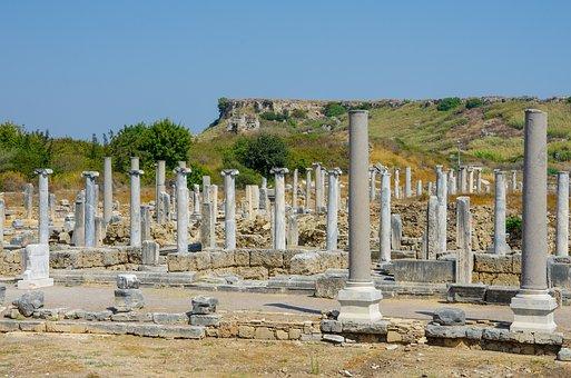 The Ancient City Of Perga, Perge