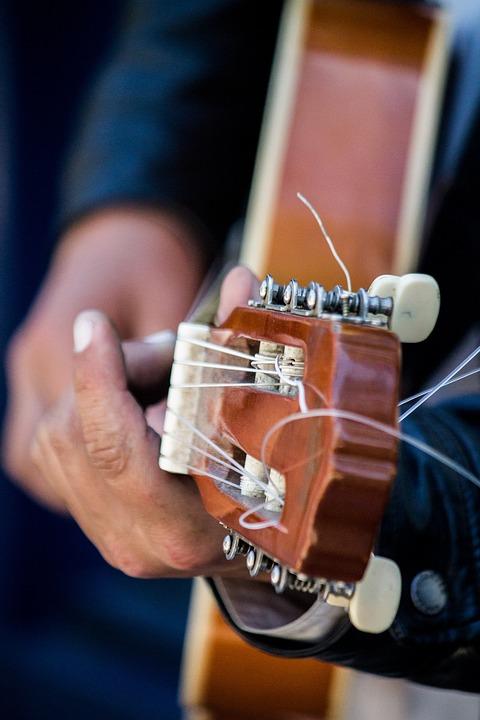 Guitar Music Playing Free Photo On Pixabay