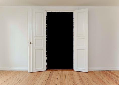 Hinged Doors, Door, Input, Old Door
