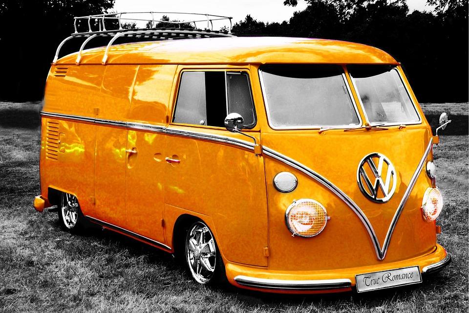 vw bus camper free photo on pixabay. Black Bedroom Furniture Sets. Home Design Ideas