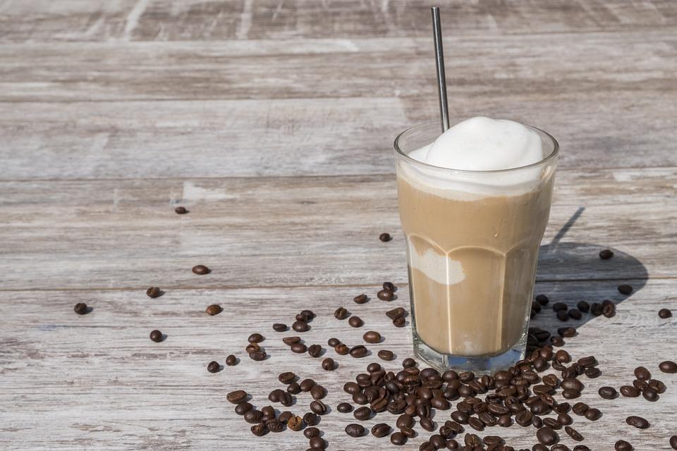 Ijskoffie, Koffie, Drinken, Profiteren Van, Koud, Ijs