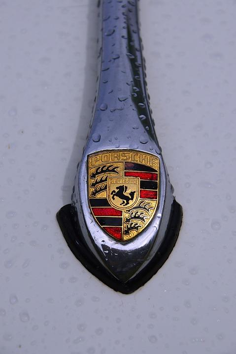 Porsche Logo Old Free Photo On Pixabay