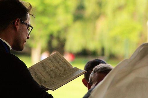 Priest, Pastor, Bible, Christianity
