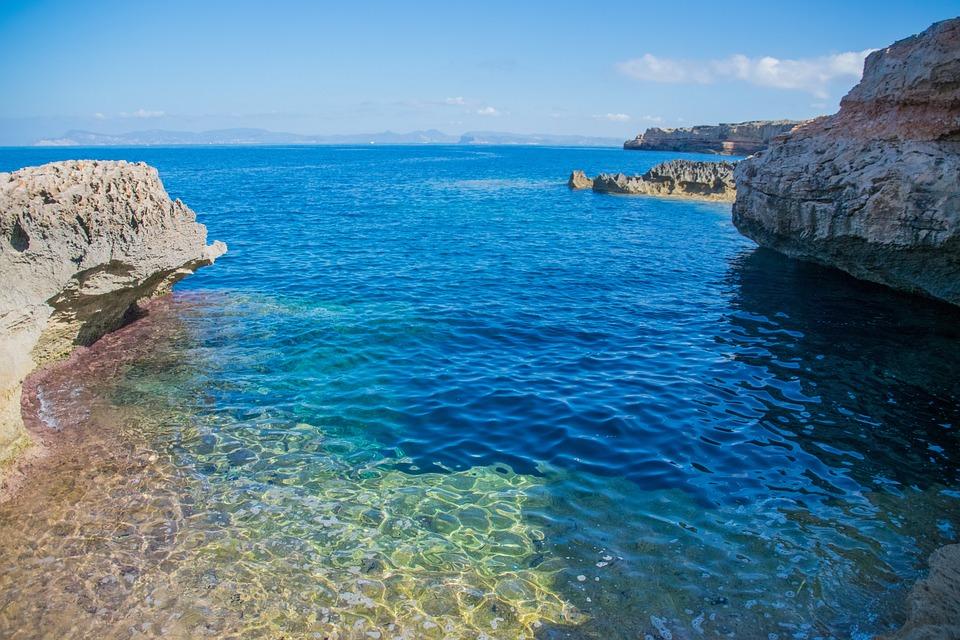 Formentera, Cala, Mar