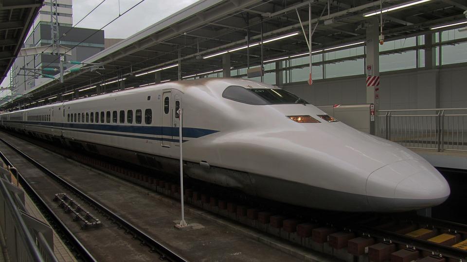 Shinkansen, Pociąg Pospieszny, Japonia, Stacja Kolejowa
