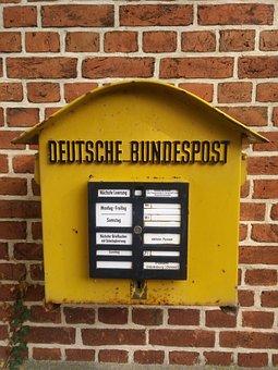 Emotion, Briefkasten, Alt, Bundespost