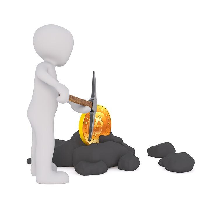 Bitcoin Mining Clipart