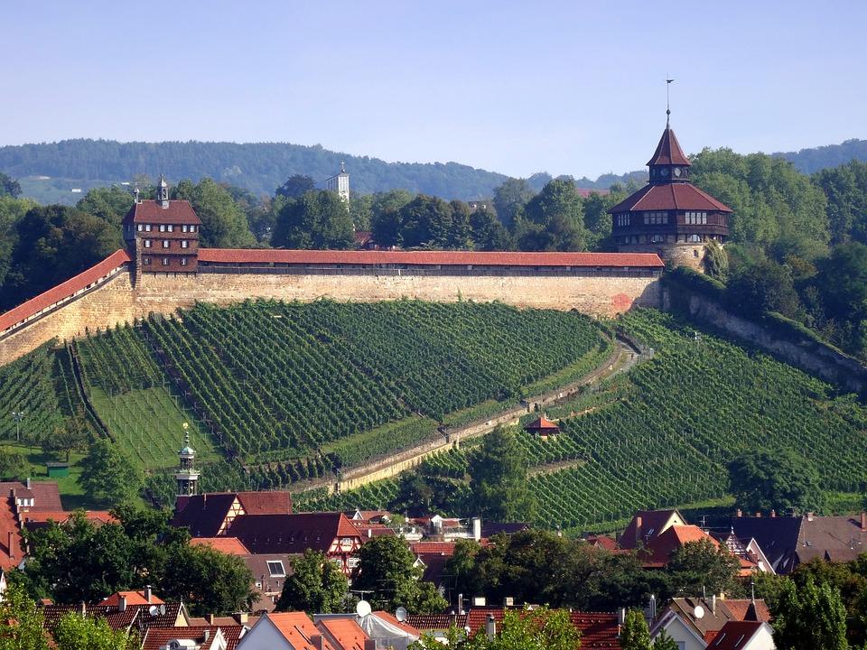 Esslingen Burg Dicker Turm Kostenloses Foto Auf Pixabay