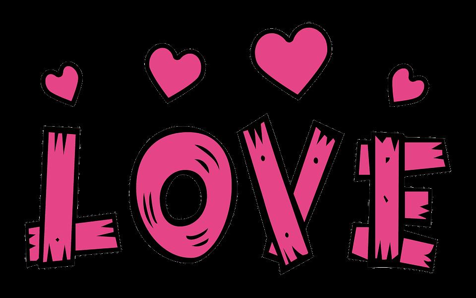 Text Love Hearts - Free photo on Pixabay