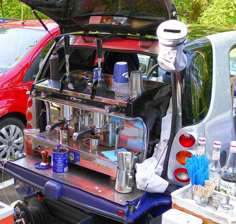 Photo gratuite: Kaffeemobil, Cafetière Mobile - Image gratuite sur ...