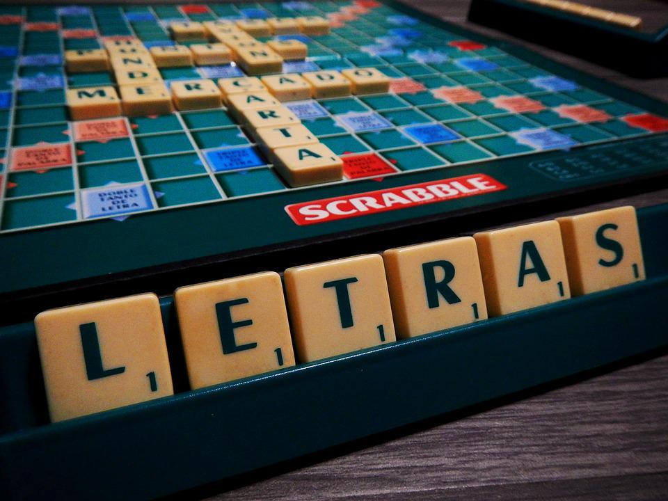 Scrabble Game Of Table Board Lyrics Think To Write