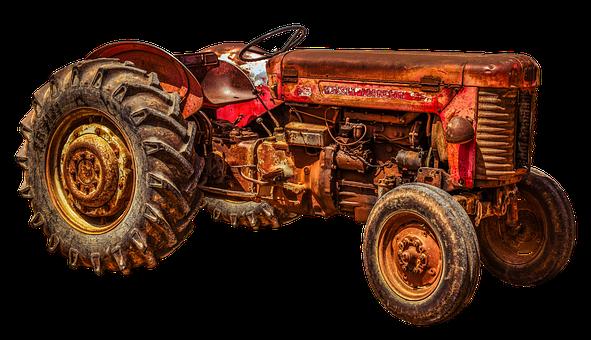Tractor, Tractors, Massey, Ferguson, 55