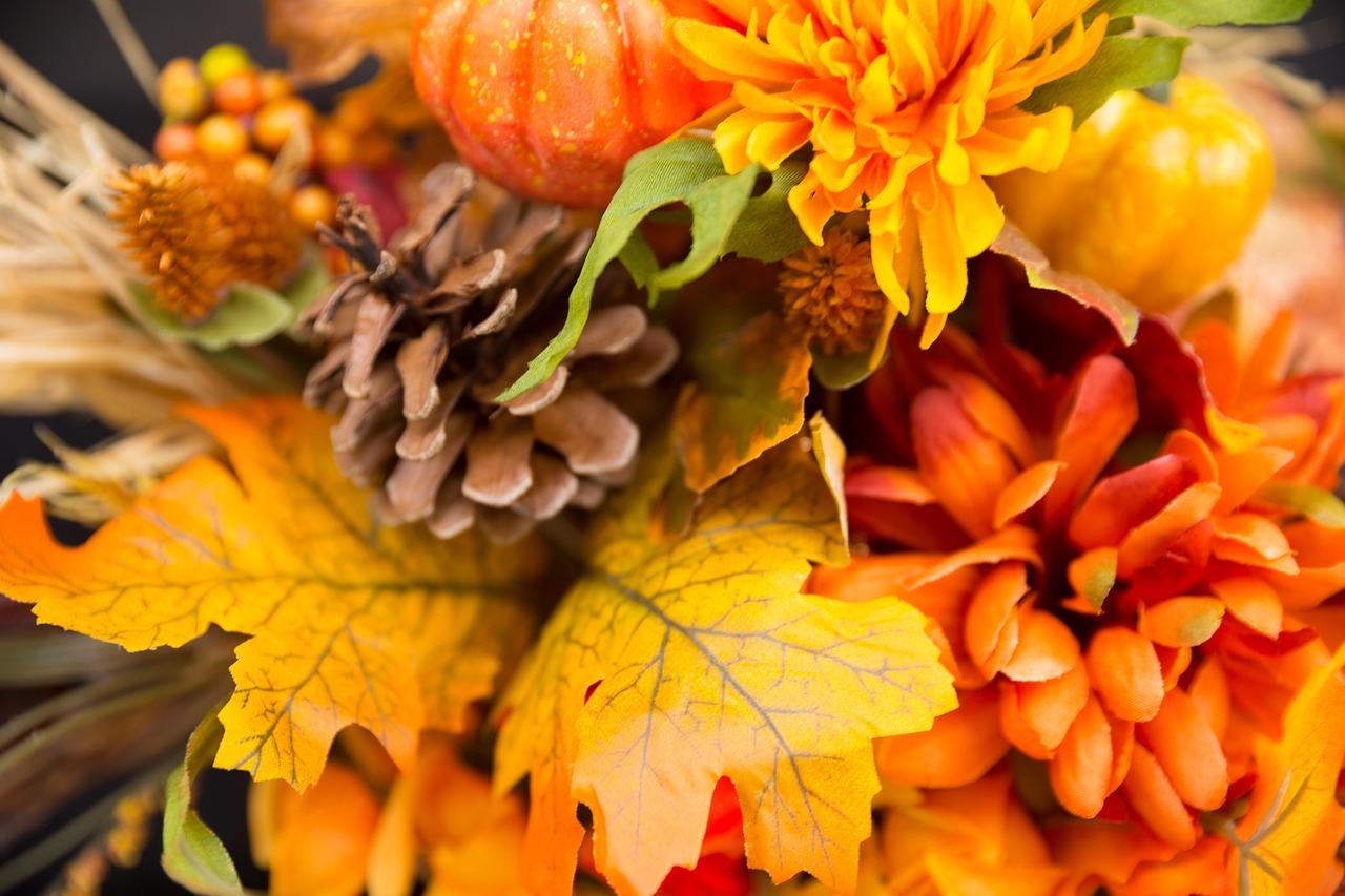 Красивые картинки осенние цветы, коробка