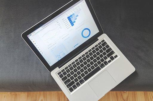 Office, Business, Notebook, Statistics