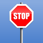 stop, sign, vector