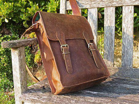 Bag, Leather, Satchel, Style, Vintage