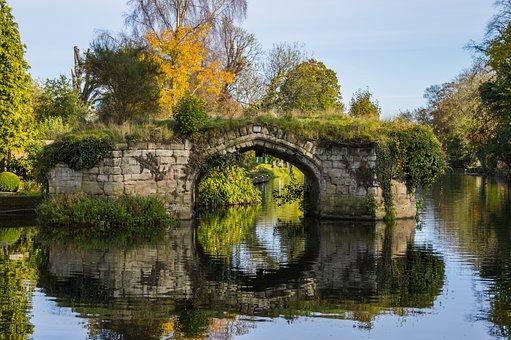 Pont, Eau, Rivière, Architecture, Nature