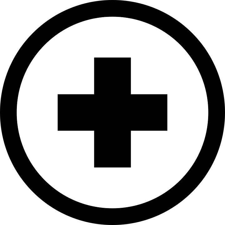 Plus, Symbole, Math, Addition, Plat, Design, Croix