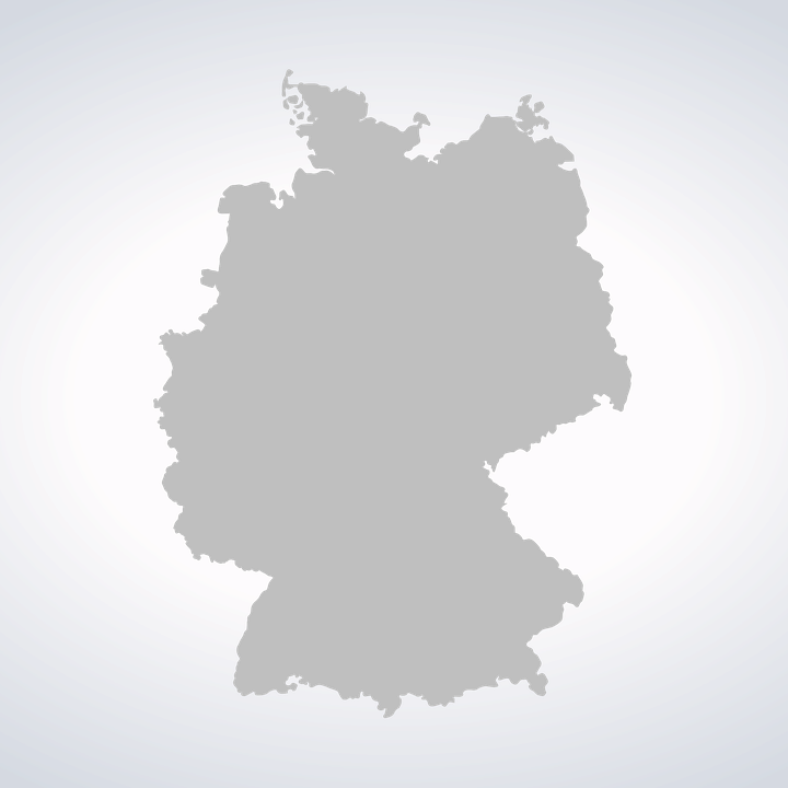 germany map germany map contour