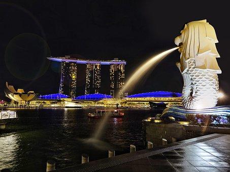 Ro Singapur Merlion Icono