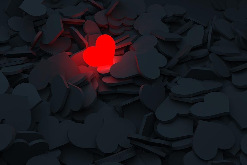 Cuore, Amore, Dolore, Emozioni, Emozione, Solitudine