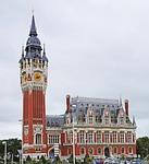 calais, town hall, france