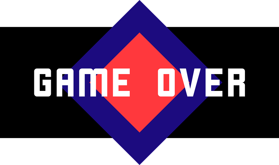Game Over Computer Gaming Play End