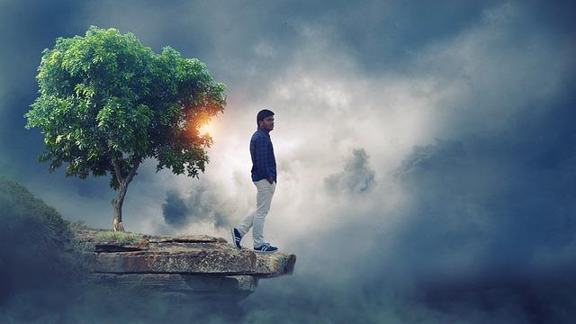 Alone Boy Matt Paint Sky Veera 183 Free Photo On Pixabay