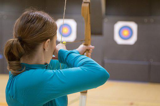 Archery, Hobby, Target, Woman, Archery