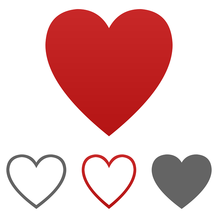 heart icon vector free vector graphic on pixabay
