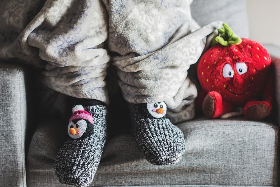 Frost, Invierno, Frío, Manta, Calcetines, La Enfermedad