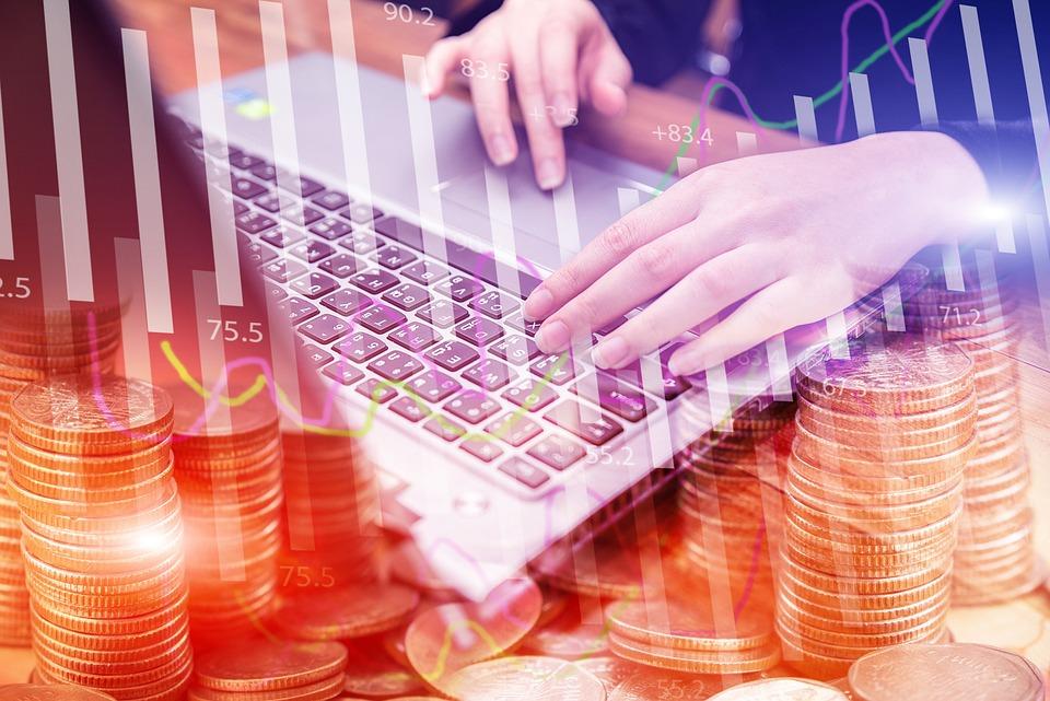 Hand, Typ, Tastatur, Geld, Finanzen, Geschäft, Tisch