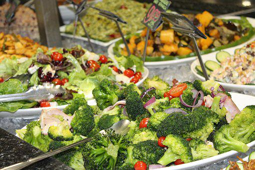 Salads, Fresh, Deli, Broccoli, Ham