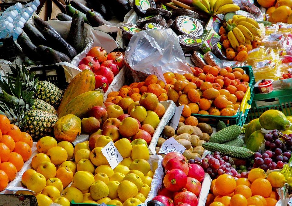 Puesto De Frutas Mercado - Foto gratis en Pixabay
