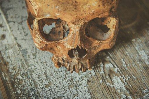 Schädel, Kopf, Knochen, Symbol, Tod