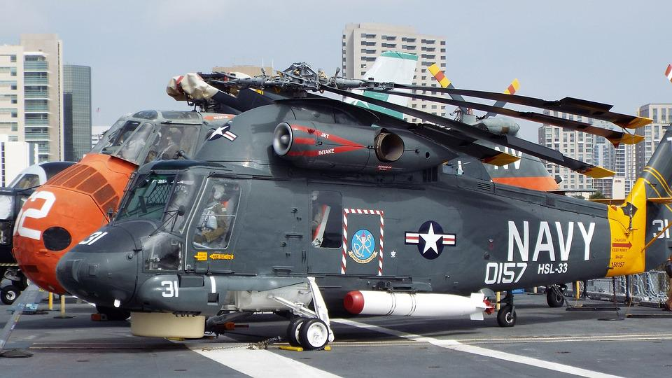 Navy Helicopter War Military Force Transport