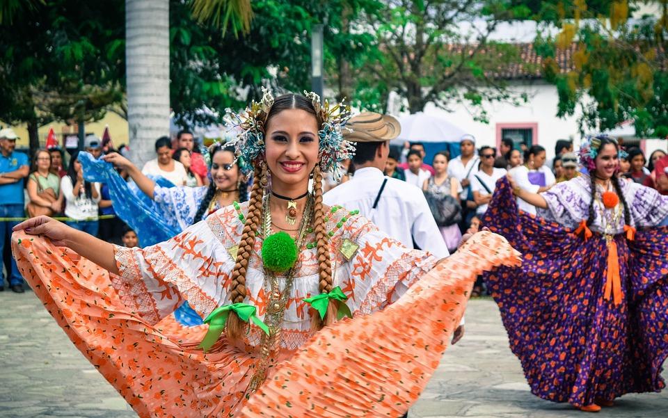 Feliz, Danza, Costa Rica, Honduras