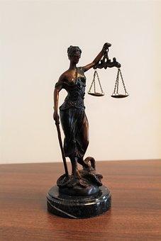 Justitia, Justicia, Ceguera