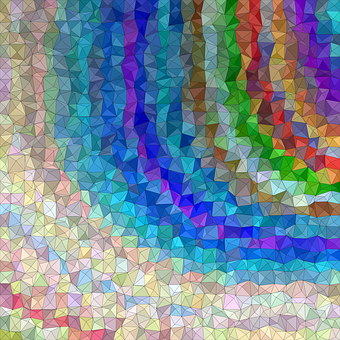 Triangle, Background, Abstract, Mosaic