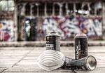 graffiti, sprayer, spray cans
