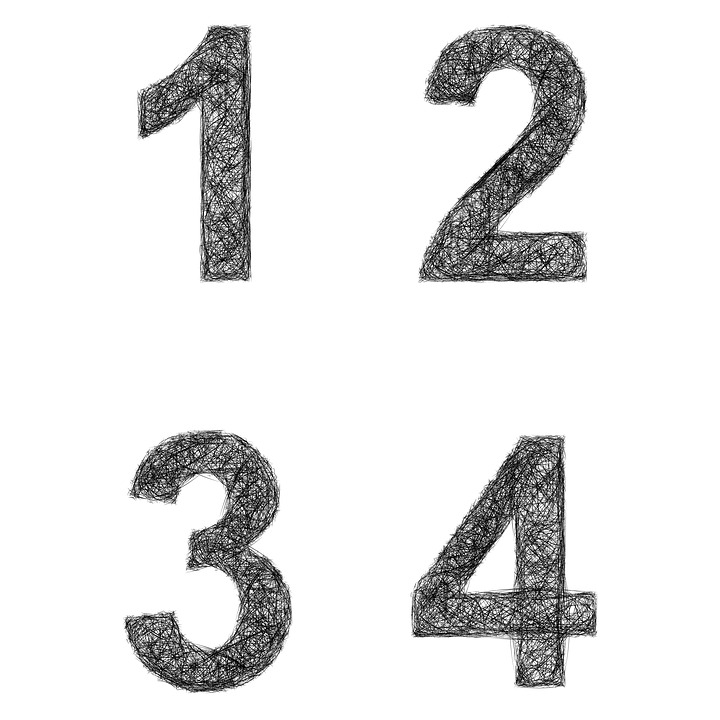 number 1 2 free image on pixabay