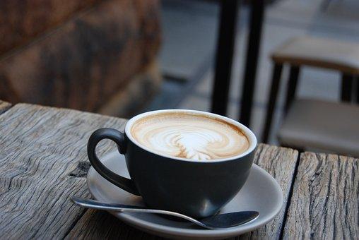 Kaffee, Campingtisch, Tasse, Pause, Kaffeepause