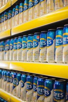 Efes, Beer, Box, Market, Blue, Macro