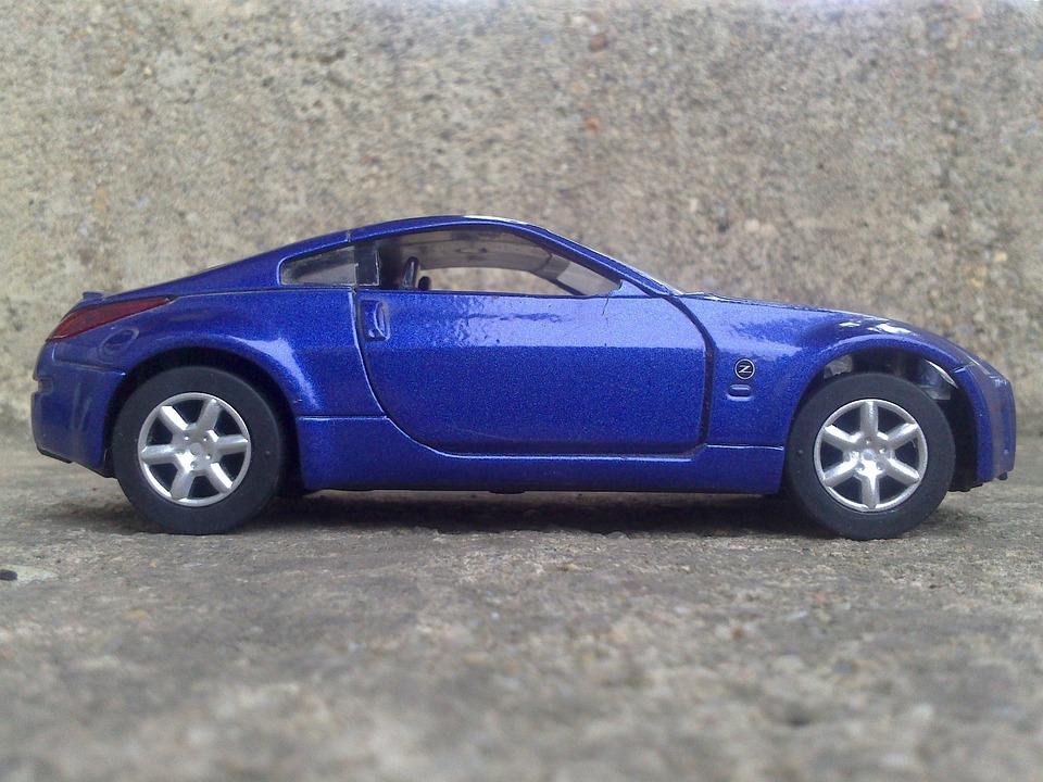 auto spiel spiel auto blaues auto sportwagen