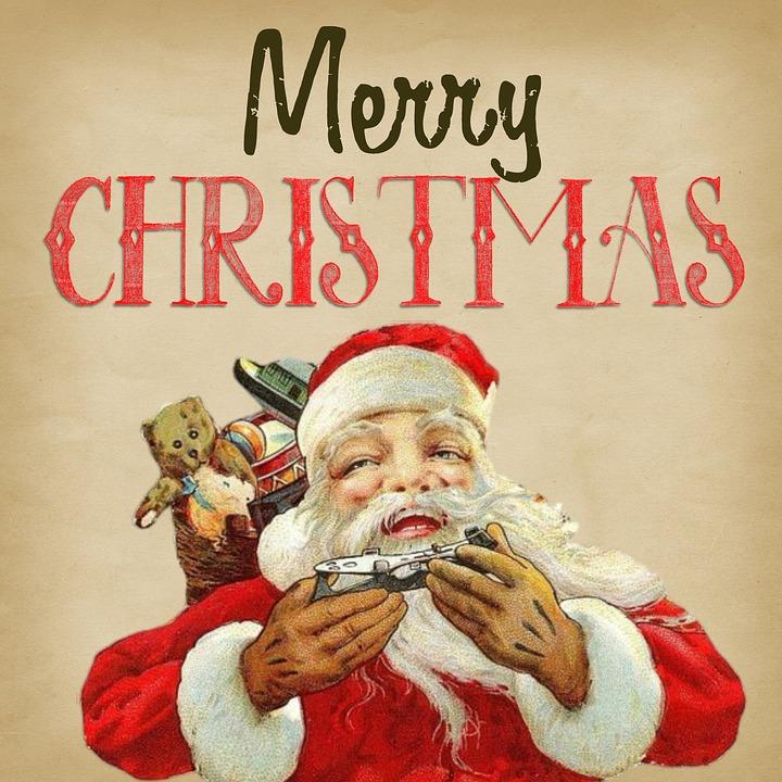 Immagini Babbo Natale Vintage.Allegro Natale Vintage Immagini Gratis Su Pixabay