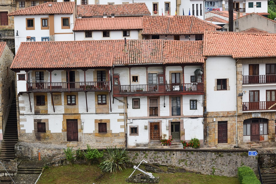 Casas tradicionales de Asturias