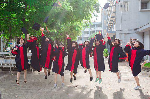 Friend, Student, Graduate, Young, Group