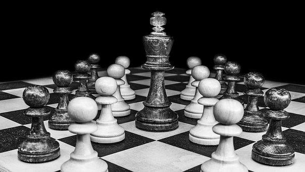 Chess, King, Chess Pieces, Chess Board